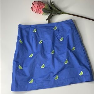 Vineyard Vines Lime wedge Skirt
